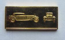 Gold Over Silver Bar / Ingot 1927 Bugatti Royale Worlds Great Performance Car