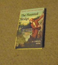 Vintage  Nancy Drew Picture Cover The Haunted Bridge-Blue end-25 chapters #15