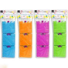 3x Reutilizable Mini Ice Bloques Nevera Congelador Packs Bolsa Térmica