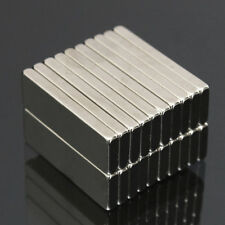 20PCS 30X10X3MM N50 SUPER STRONG CUBOID BLOCKS RARE EARTH NDFEB MAGNETS FADDISH
