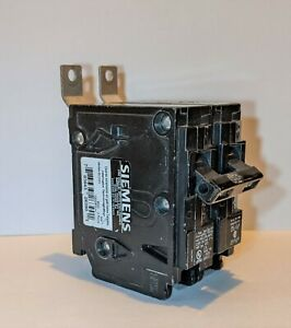Siemens B220h 20 A Bolt On Standard Miniature Circuit Breaker , 120/240V Ac