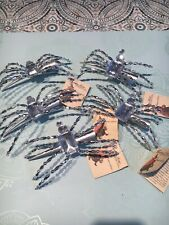 Bethany Lowe Spider Hair Clips - Brand New - Lot Of 6
