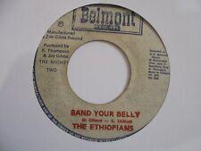 "New ListingThe Ethiopians Band Your Belly Belmont Reggae 7"" Hear"