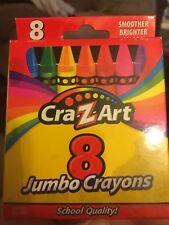 Cra-Z-Art 8 Jumbo Crayons. New