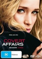 COVERT AFFAIRS (COMPLETE SEASON 3 - DVD SET SEALED + FREE POST)