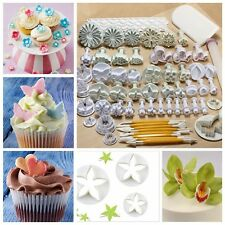 68Pcs Fondant Mold Sugarcraft Pastry Cake Decor Icing Plunger Cutters Mould Kits