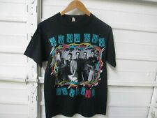 Vintage 1989 New Kids On The Block On Tour T Shirt Made In USA Screen Stars M