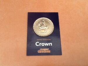 RARE CHANGE CHECKER UK FIVE SHILLINGS CROWN COIN GEORGE VI FESTIVAL BRITAIN 1951