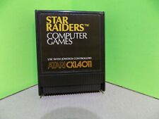 Vintage ATARI game cartridge for 400 800 1200 XE XL STAR RAIDERS Tested Works