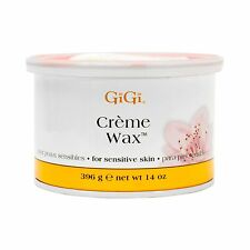 10 Jars of GiGi  Creme Wax  - 14oz/396g