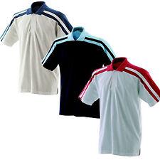 Finden & Hales 100% Algodón Cuello Polo Camiseta de manga corta