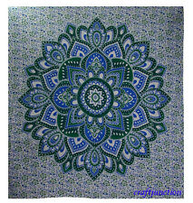 Indian Queen Size Bohemian Tapestry Wall Hanging Mandala Throw Hippie Bedspread