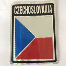 CZECHOSLAVAKIA CZECH Vehicle Car Auto Decal Sticker Vintage Kodak