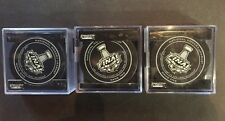 NHL Official Game 1 2 5 Stanley Cup 2014 Puck Los Angeles Kings Rangers 3 pucks
