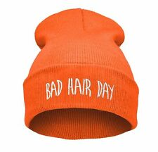 BEANIE HAT WASTED YOUTH Bad Hair Day Day Swag Cash Witch Meow Baked ASAP Ain't