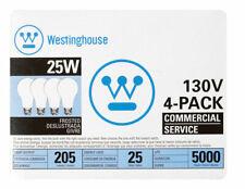 Westinghouse  25 watts A19  Incandescent Bulb  205 lumens White  A-Line  4 pk