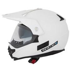 Spada Intrepid Adventure ATV Quad Motocross Helmet Enduro Off Road Pear White XS