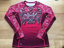 ATHLETA Long Sleeve Runaway Top Plum Snow Valley Size Small NWT