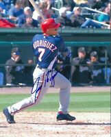 Ivan Rodriguez 8 x10 Autographed Signed Photo ( Rangers HOF ) REPRINT