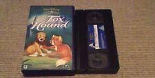 The Fox And The Hound WALT DISNEY UK PAL VHS VIDEO 2003 Pearl Bailey Kurt Russel