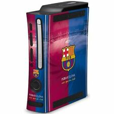 FC Barcelona Football Club Crest Removable Xbox 360 Console Skin UK
