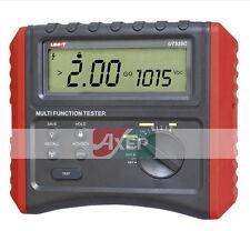 EARTH INSULATION RCD Resistance TESTER METER Uni-T UT529C 250V/500V/1000V