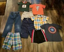 BOY'S CLOTHING/CLOTHES LOT SIZE 4-8 YOUTH KIDS SHIRTS/JERSEY/SHORTS/JEANS