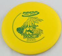 NEW Dx Roc3 180g Mid-Range Yellow Innova Disc Golf Celestial Discs