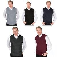 Sleeveless Sweater Knitted Vest Tank Top Gilet V Neck Men Golf Waistcoat M- XXL