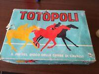 TOTOPOLI  Editrice Giochi  Scatola bianca Totopoly Derby con doppio TABELLONE