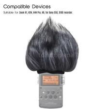 Outdoor Microphone Windscreen Fur Wind Cover for Zoom H1 H2N H4N Pro H6 E7O8