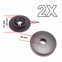2X Floor Mat Fastener, Holder Fixing Clips, Carpet Clamps for VW, Skoda, Audi