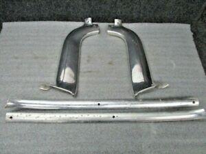 1959 Cadillac Windshield Trim Interior Aluminum Trim - Set of 4 pieces