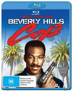 Beverly Hills Cop Trilogy Blu ray RB New Sealed