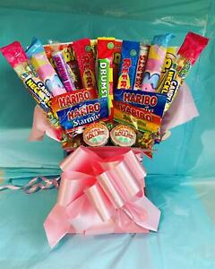 Sweet Bouquet Gift Retro Tree Hamper Candy Explosion Birthday Any Occasion