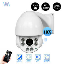 "4.5"" POE 1080p HD Onvif Network Outdoor 2MP 10X Mini PTZ Camera IP Speed Dome"