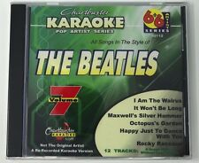 CHARTBUSTER KARAOKE POP THE BEATLES VOL 7 CD+G ON-SCREEN LYRICS