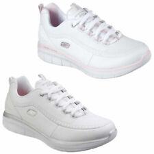 Zapatillas deportivas de mujer blancos Skechers Synergy
