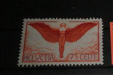"SWITZERLAND 1924 ""75 CENT"" P.A. MH* STAMP (CAT.5)"