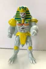 """Bandai Mighty Morphin Power Rangers 8"""" King Sphinx action figure used"""