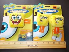 Sponge Bob Squarepants Ziggideez Attaches to Belts & Shoes  Nickelodeon weird