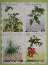 Korea 2004 Traditional Dye Plants Block/4 MNH Sc#2140a-d
