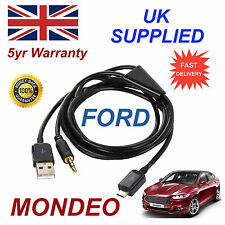 Para Ford Mnondeo Samsung HTC & LG Sony Nokia Micro Usb Y 3.5 Mm Aux Audio Cable B