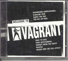 WELCOME TO VAGRANT 9 TRACK  Dashboard Confessional Koufax CD 2003 NEW
