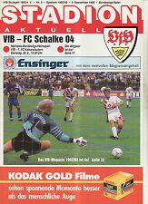BL 92/93 VfB Stuttgart - FC Schalke 04