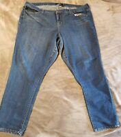 Torrid Denim Skinny Jeans Ankle Stretch Jeggings Medium Wash Size 26T