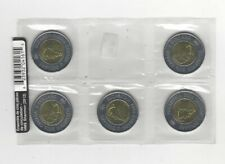 2012 HMS Shannon, Unc. 5 Coin Pack Canadian, Toonie, Two Dollar Set