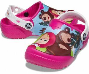 CROCS Masha & The Bear Limited Edition KIDS NEW