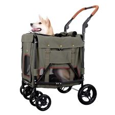 Ibiyaya Gentle Giant Dual Entry Easy-Folding Pet Wagon Stroller Dogs up to 25kg