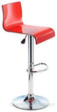 Tabouret rouge modernes pour la maison